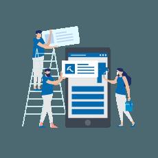 servizio realizzazione mobile app - digital creative solution